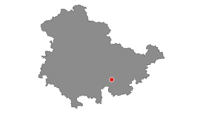 Karte / Wanderung - Hohenwarte Stausee Weg - Thüringer Wald