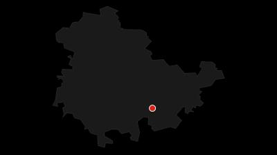 Map / Wanderung - Hohenwarte Stausee Weg - Thüringer Wald