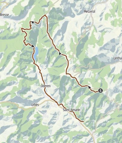 Carte / Mountainbike Vogesen 2016 Tag 3