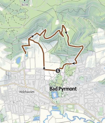 Karte / Tourenplanung am 18. August 2016