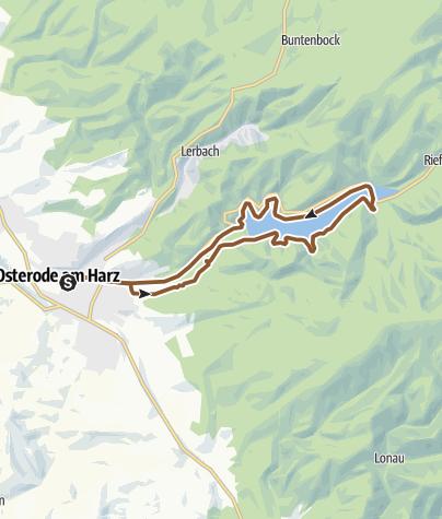 Karte / Rundtour Sösetalsperre