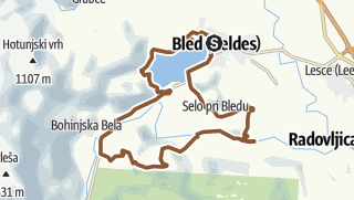 Map / Bled Kurzrunde