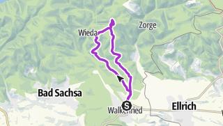 Karte / Bremerklippen von Walkenried aus