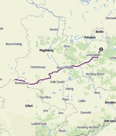 Karte / Zossen  - Bad Sachsa