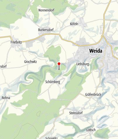 "Karte / Naturcampingplatz mit Wanderherberge ""An der Aumatalsperre"""