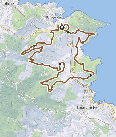 Carte / Port-Vendres 24 km