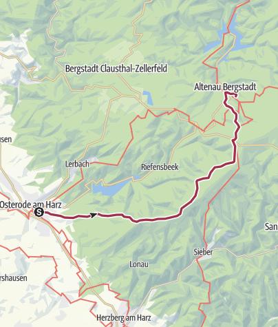 Karte / Hexenstieg Tag 1