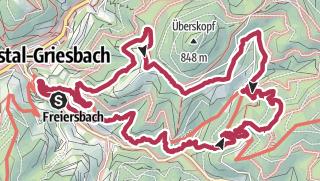 Karte / Himmelssteig
