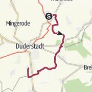 Karte / Von Breitenberg durch das Ramkebachtal, über das Grüne Band nach Gerblingerode