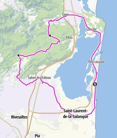 Carte / Pyrenäen - TT 16 - LAC LEUCATE PETIT