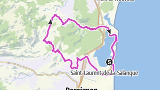 Carte / Pyrenäen - TT 18 - Ferie Træning