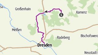 Karte / Radtour 25.5.17