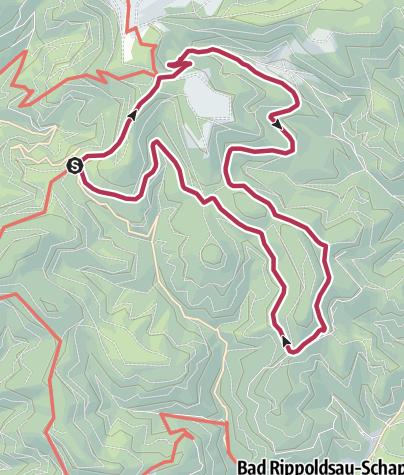 Map / Otmarhütte