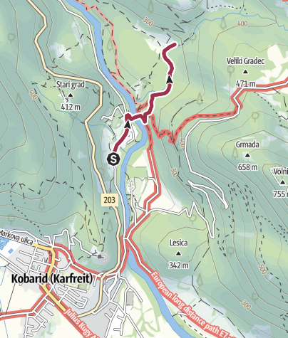 Map / Waterfool Kozjak
