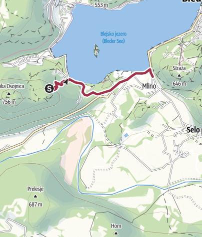 Map / Mala Osoinica