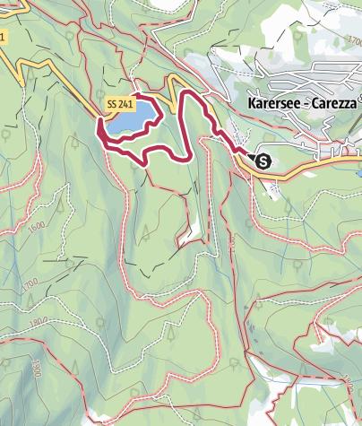 Mappa / Dal Grand Hotel Carezza al Lago di Carezza