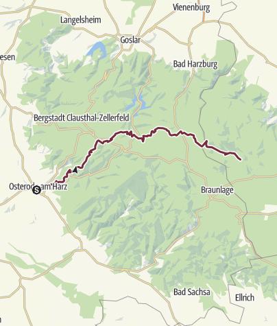 Karte / OsterodeSchierke