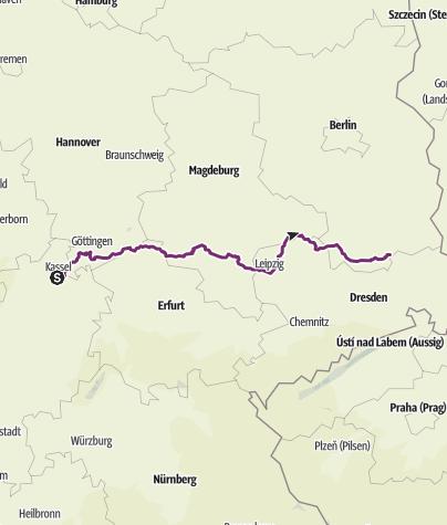 Karte / Tourenplanung am 24. Juli 2017