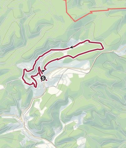 Karte / Geschichts- und Kulturpfad Wunderthausen