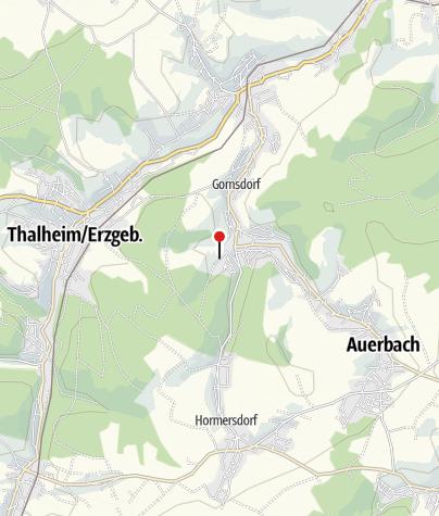 Karte / Parkplatz - Naturbad Gornsdorf