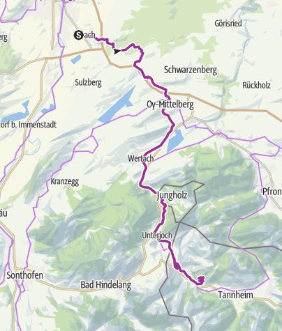 Map / Zugspitzblick