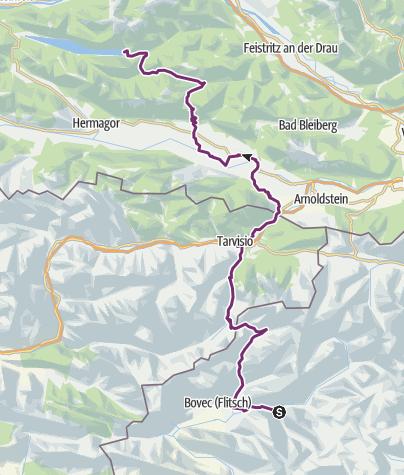 Map / Trans Alpina München - Triglav und zurück: 9. Etappe
