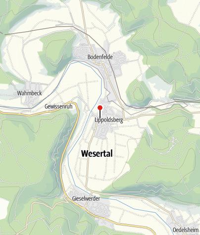 Karte / Grünanlage an der Stelle des ehemaligen Eisenhammers
