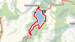 Karte / Rundwanderweg Talsperre Gottleuba