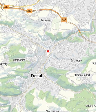 Map / Stadtkulturhaus Freital