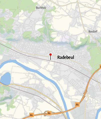 Karte / Jugendherberge Dresden-Radebeul