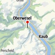 Map / Jugendherberge Oberwesel