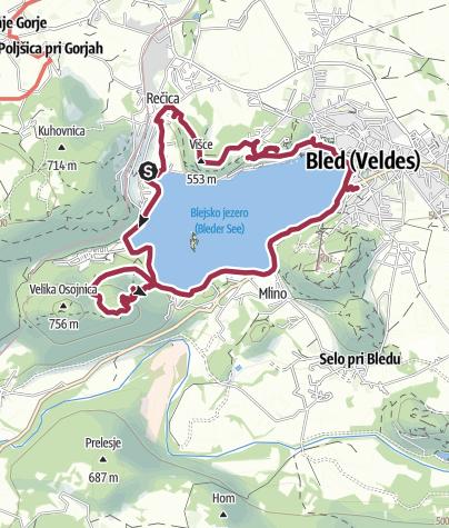 Zemljevid / Bled 2