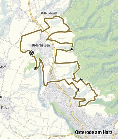 Karte / 7. Altämter Distanz 25 km Schleife