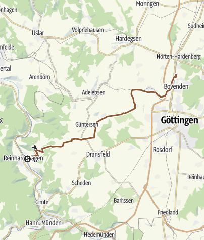Karte / Hemeln-Bovenden. Zur Arbeit