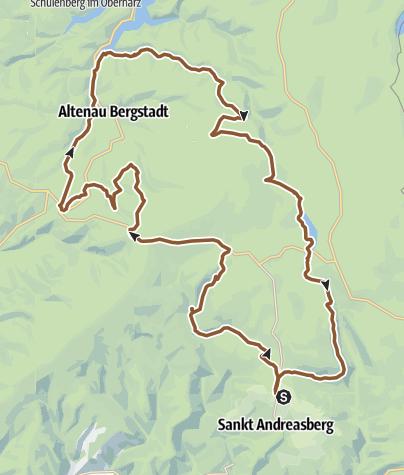 Karte / St. Andreasberg - Dammhaus