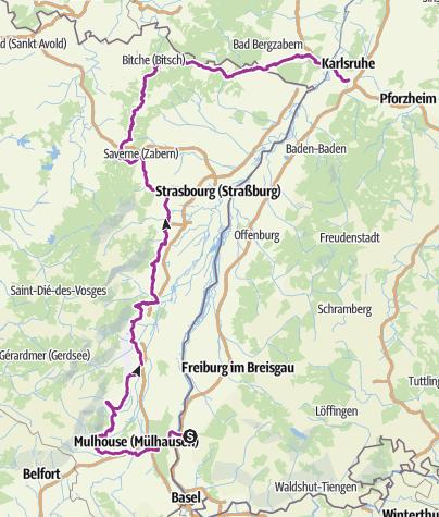 Carte / Elsass-Tour_gesamt 2018
