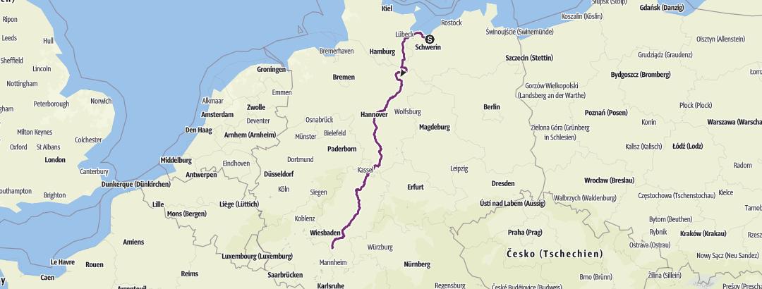 Karte / Wismar Wallerstädten