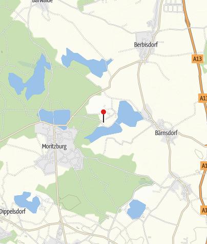 Karte / Churfuerstliche Waldschaenke Moritzburg