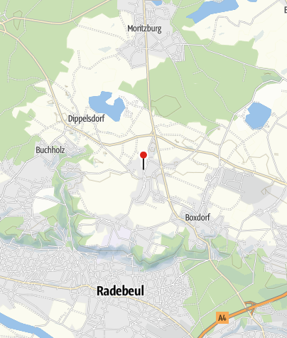 Karte / Hotel garni Sonnenhof Reichenberg