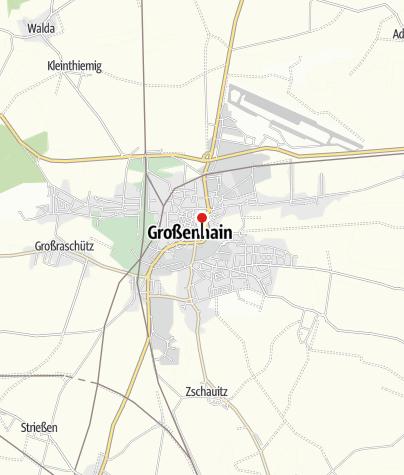 Karte / Kulturschloss Großenhain mit Aussichtsturm Bergfried
