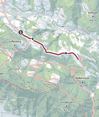 Karte / Orchideenwiese Feichtbauer