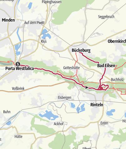 Karte / 3 Türme-Tour