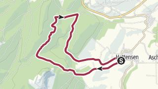 Karte / Tour aus GPX-Track am 19. Januar 2019