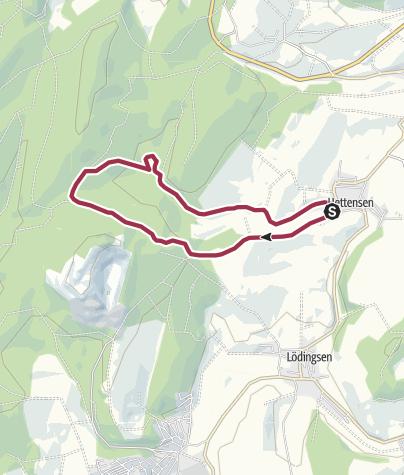 Karte / Tour aus GPX-Track am 20. Januar 2019
