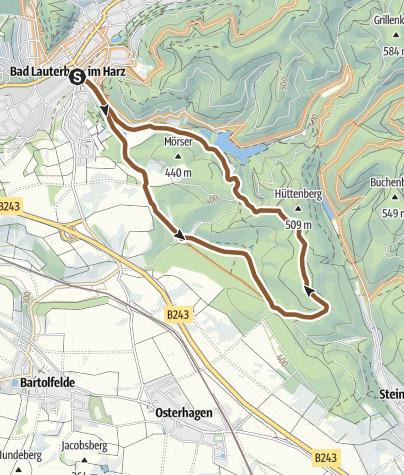 Karte / Harz BL1 Leichte Sonntagstour