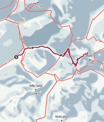 Karte / Trenta - Triglav 2015