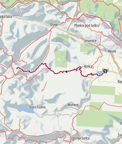 Map / Tourenplanung am 17 mars 2019 00:05:48