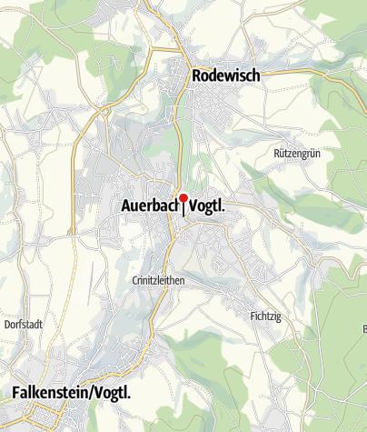 Karte / Stadtbibliothek Auerbach/Vogtland