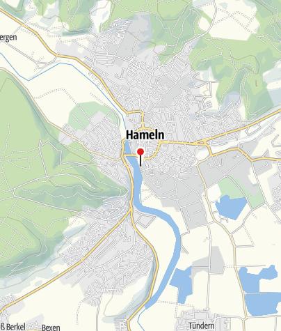 Karte / Parkhaus Rattenfängerhalle Hameln