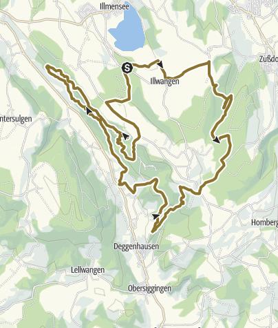 Karte / Um den Höchsten